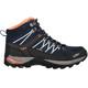 CMP Campagnolo W's Rigel Mid WP Trekking Shoes Black Blue-Giada-Peach